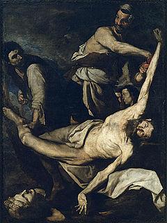 <i>The Martyrdom of Saint Bartholomew</i> painting by Jusepe de Ribera