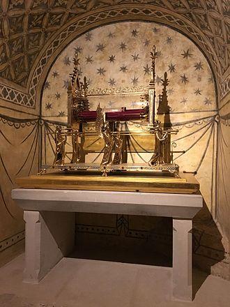 Vézelay Abbey - Mary Magdalene's relics