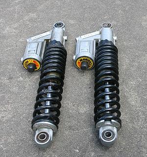 Marzocchi - Marzocchi Strada oil-air motorcycle rear suspension units.