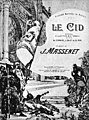 Massenet - Le Cid - Original poster by Clairig - The Victrola book of the opera.jpg