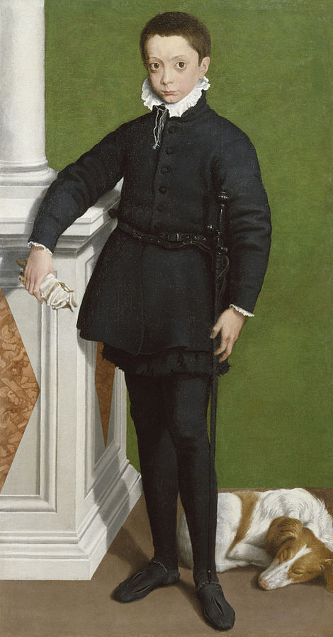Portrait of Marquess Massimiliano Stampa