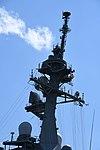 Mast of JS Atago(DDG-177) left rear view at JMSDF Maizuru Naval Base April 13, 2019.jpg