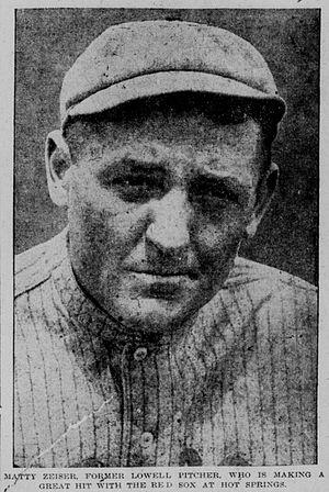 Matt Zeiser - Image: Matt Zeiser 1914
