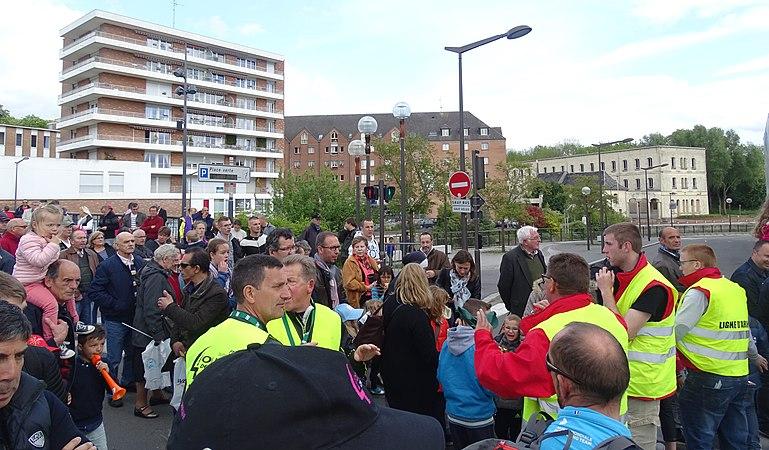 Maubeuge - Quatre jours de Dunkerque, étape 2, 7 mai 2015, arrivée (A20).JPG
