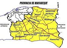 Provincia de Mayabeque  Wikipedia la enciclopedia libre