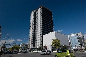 Yamazaki Mazak Corporation - Image: Mazak Tower