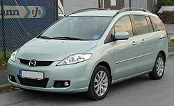 2005–2007 Mazda5 (Germany)