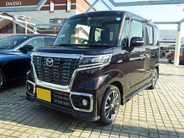 Mazda FLAIR WAGON Custom Style HYBRID XS (DAA-MM53S) front.jpg