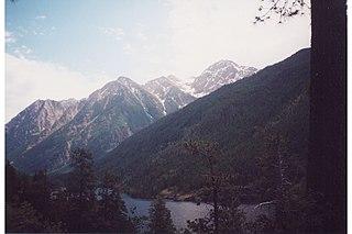 McDonald Peak mountain in United States of America