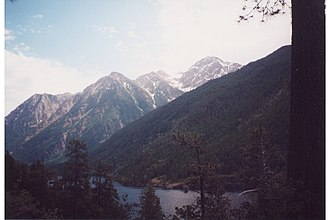 Mission Mountains - Image: Mc Donald Peak Montana