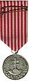 Medaila Za osobnu statočnost reverz vojnovej Slovenskej republiky 1940.JPG