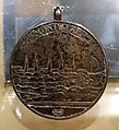 Medal bestowed on a Native American chief for the storming of Montreal by the British in 1760, by Daniel Christian Fueter, 1761, silver - Château Ramezay - Montreal, Canada - DSC07475.jpg