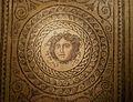 Medalló central del mosaic de la medusa, Museu d'Història de València.JPG