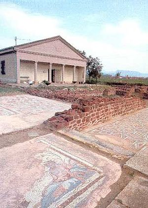 Roman heritage in Serbia - Mediana, birthplace of Emperor Constantine