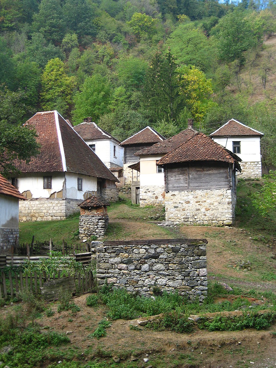 Medvednik - zapadna Srbija - selo Vujinovača - mesto Bebića Luka 3
