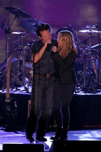 "John Mellencamp - John Mellencamp and Sheryl Crow perform Mellencamp's 2008 single ""My Sweet Love"" in the Hunter Region, New South Wales, Australia on November 29, 2008."