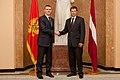 Melnkalnes premjera un Ministru prezidenta Valda Dombrovska tikšanās 31.08.2011. (6099392298).jpg