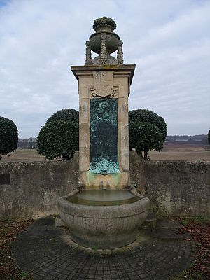 Lord George Bentinck - Memorial to Bentinck on the path where he died, near Worksop