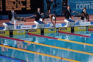 Stefan Nystrand Swedish swimmer