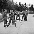 Men of the Army Film and Photographic Unit training at Pinewood Studios, Buckinghamshire, June 1943. H30989.jpg
