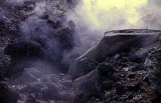 Kunashir Island - Mendeleyev Volcano