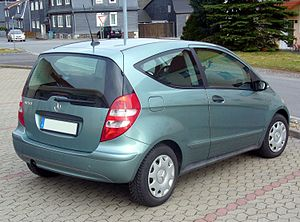 Mercedes benz c class wikivisually mercedes benz a class pre facelift a 150 3 door fandeluxe Gallery