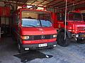 Mercedes 7110 fire engine of the Fire sub-station of Apollonia, Pyrosvestiko klimakio Apollonion, pic1.JPG