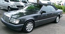 Mercedes W124 Cabrio front 20070609.jpg