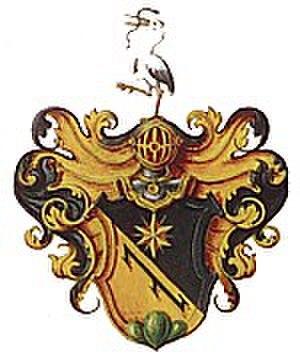 Merian family - Image: Merian coat of arms