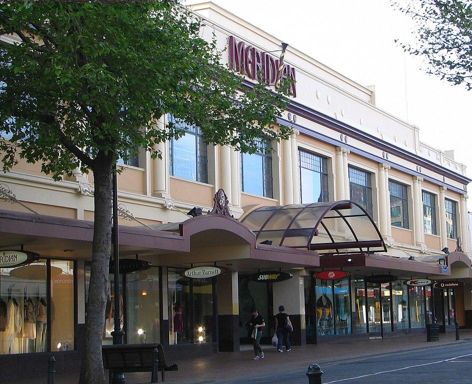 Meridian Mall Dunedin Food Court