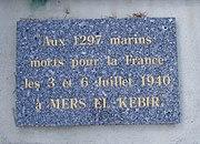 Mers el Kebir Memorial at Toulon, France