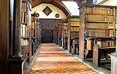 Une aile de la bibliothèque de Merton College
