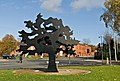 Metal Tree - Public Art - geograph.org.uk - 928428.jpg