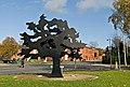 Metal Tree - Public Art - geograph.org.uk - 928428.jpg