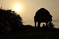 Metcalfe's Folly, Mehrauli Archaeological Park at Dawn.JPG