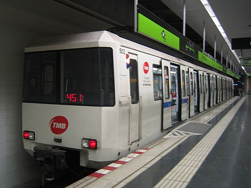 Metro Barcelona train type 500