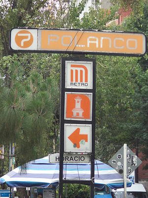 Metro Polanco - Image: Metro Polanco 04