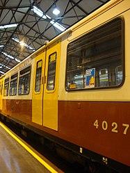 Metrocar 4027, Tyne and Wear Metro depot open day, 8 August 2010 (2).jpg