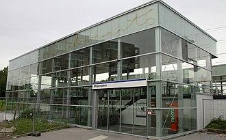 Rotterdam The Hague Airport - Meijersplein RandstadRail station