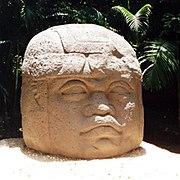 Cabeza Olmeca. Parque Museo La Venta
