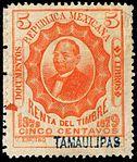 Mexico 1879 documentary revenue 65 Tamaulipas.jpg
