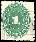 Mexico 1887 1c perf 6 Sc201 used mute.jpg
