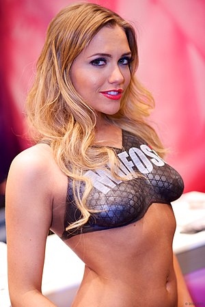 31st AVN Awards - Image: Mia Malkova 2014 AVN Adult Entertainment Expo AEE