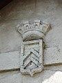 Mialet (Dordogne) mairie armoiries (1).JPG