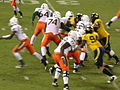 Miami on offense at 2008 Emerald Bowl 20.JPG