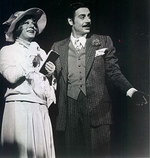 Jerry Orbach - Orbach (right) as Billy Flynn in the original 1975 Broadway production of Chicago