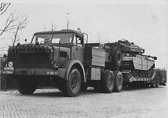 Tank transporter - Antar tank transporter