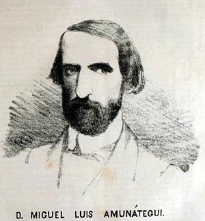Miguel Luis Amunátegui - Miguel Luis Amunátegui.
