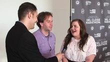 File:Mike Birbiglia and Aidy Bryant.webm