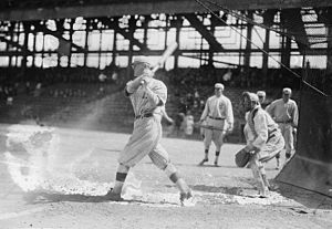 Mike Mowrey - Mowrey batting for Brooklyn in 1916